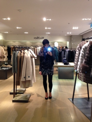 MaxMara in Printemps.