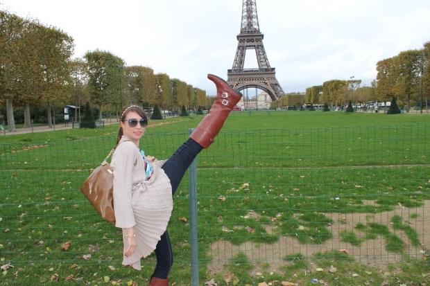 Kickin' off Paris