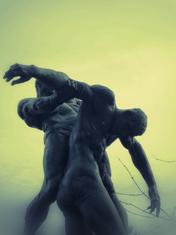 Brussels Men Statue