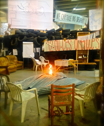 Thomas Hirschhorn's, Eternal Flame