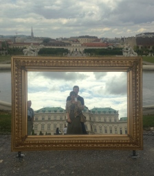 Interesting selfie concept for a museum...
