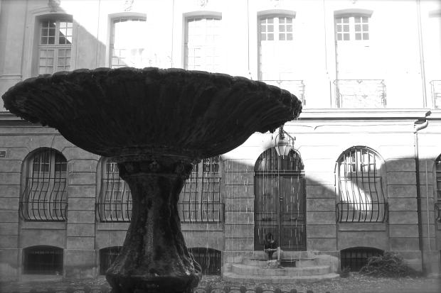 La Fontaine Place d'Albertas