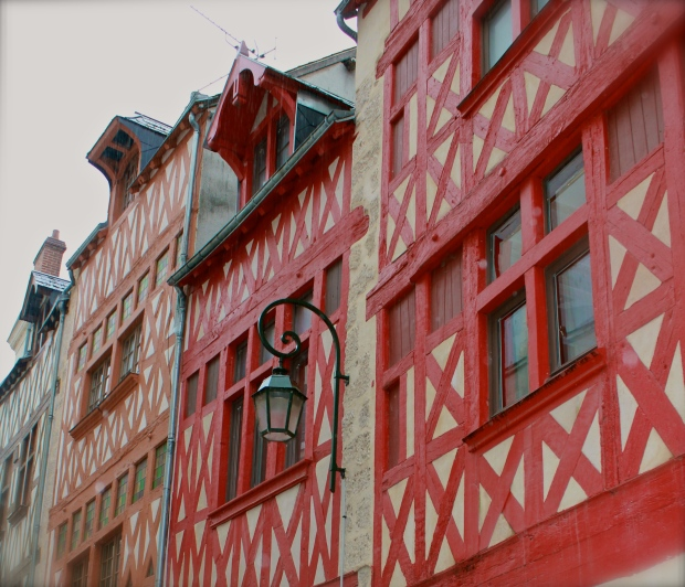 Painted to help rehabilitate the historic centre of Orleans.