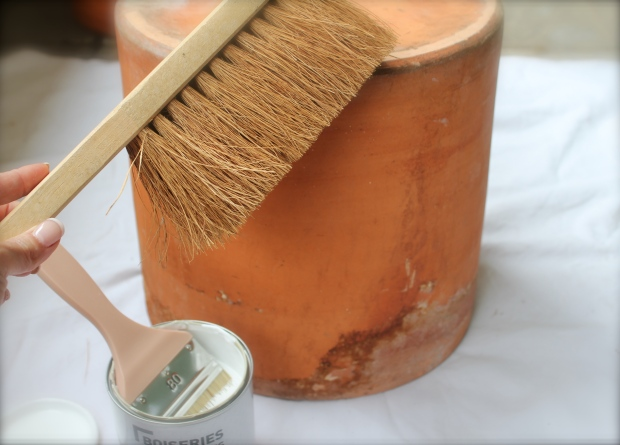 Use a dust brush to remove  underlying dirt and outdoor debris