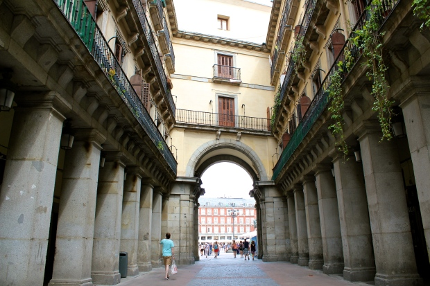 Entering Plaza Mayor